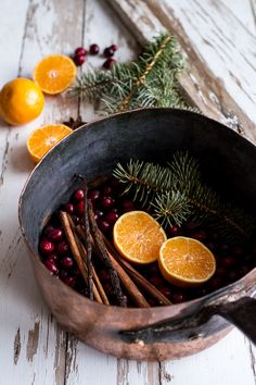 Make the house smell like Christmas with holiday potpourri from @hbharvest