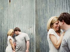 Industrial Modern Engagement Session in Tennessee | Images by Sarah Ingle Photography
