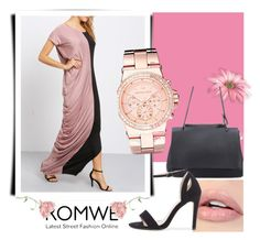 """Romwe 3"" by s-o-polyvore ❤ liked on Polyvore featuring Michael Kors"