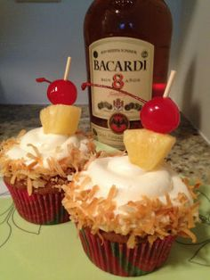 Phuket & Pina Colada Cupcakes « Suitcases & Sweets