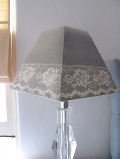 Acute Designs: Lovely DIY Designs: Lace Lampshade