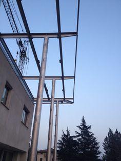 Pilastri in acciaio inox