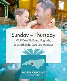 Dive into family-fun with a jubilant journey to Great Wolf Lodge in Concord, NC!  Available Sunday through Thursday, this dynamic waterpark and resort destination makes an exceptional one-night getaway for family and friends, expiring January 31, 2014.  With the frostiness of winter in full swing, now is the time for planning quick and quirky getaways for family and friends that'll keep everyone connected. Great Wolf Lodge is truly a family destination filled with an assortment of…