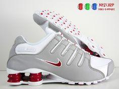 I'm diggin the red.. Nike Shox $119