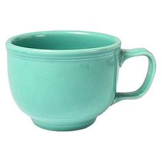 Fiesta 18 oz. Jumbo Cup (Set of 4) Color: Turquoise