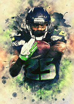 Richard Sherman by Taylan Soyturk