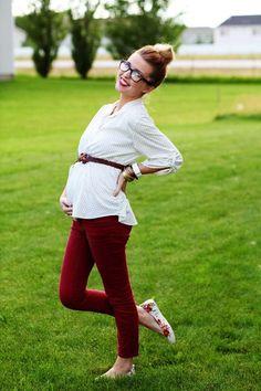 Outfits para ir a la oficina si estás embarazada - Estar embarazada y lucir genial