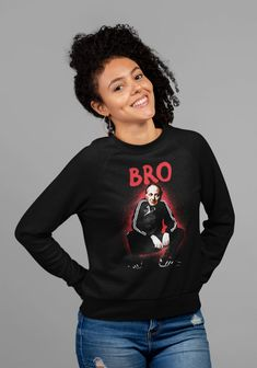 Joseph Brodsky Artist Bro Heavy Blend Crewneck Sweatshirt / | Etsy Lgbt Shirts, Funny Tees, Woman Quotes, Women Empowerment, Cool Shirts, Bro, Crew Neck Sweatshirt, Joseph, Long Sleeve Tees