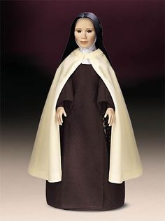 I had given this doll to my mother when I entered Carmel for a brief time. Nun Outfit, Nun Costume, Daughters Of Charity, Nuns Habits, Lady Of Mount Carmel, Bride Dolls, To My Mother, Catholic Gifts, Wedding Music
