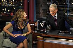 Beyoncé on David Letterman.