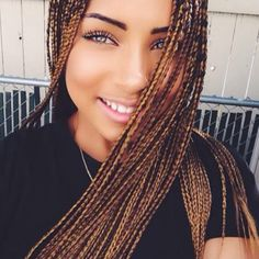 Crochet Braids On Thin Hair : ... Braids on Pinterest Box Braids, Short Box Braids and Crochet