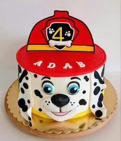 Birthday cake for boys paw patrol website 47 ideas Torta Paw Patrol, Paw Patrol Cake Toppers, Paw Patrol Birthday Theme, Paw Patrol Party, Cake Disney, Fantasy Cake, 3rd Birthday Cakes, Animal Cakes, Cupcake Cakes