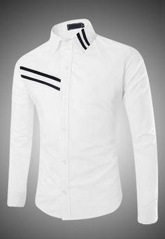 Beautiful men's shirts cheap fashion – Gift For Men African Shirts For Men, African Dresses Men, African Clothing For Men, African Wear, Mens Clothing Styles, Nigerian Men Fashion, African Men Fashion, Formal Shirts, Casual Shirts For Men