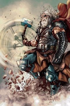 Funny Disney Thor is great and all, but it would be cool to have a stand alone, hard R rated, badass movie on Norse mythology. Arte Dc Comics, Marvel Comics Art, Thor Marvel, All Marvel Heroes, Loki Thor, Loki Laufeyson, Comic Book Characters, Marvel Characters, Comic Movies