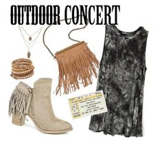 """""""Outdoor Concert with Entourage"""" by shopentourage ❤ liked on Polyvore"""