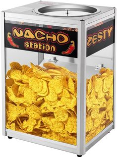 Commercial Grade Counter Top Nacho Chip Warming Station Tortilla Chips Server  #GreatNorthern #Commercial #Nacho #Station #Server