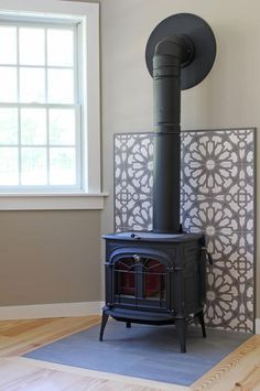 Newest Photo Fireplace Remodel stucco Strategies Handpainted Persian Star fireplace surround – Wood Stove Wall, Corner Wood Stove, Wood Stove Surround, Wood Stove Hearth, Log Burner Fireplace, Fireplace Tile Surround, Farmhouse Fireplace, Faux Fireplace, Wood Burner