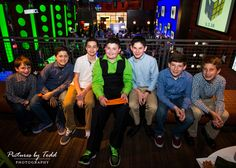 Group photo with friends at Bar Mitzvah.
