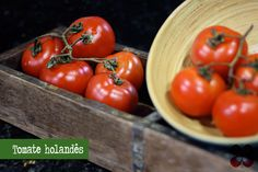 tomate-holandes-(leticia-massula-para-cozinha-da-matilde) Vegetables, Fitness, Ideas, Orange Crush Cake, Tomato Gravy, Healthy Food, Side Dishes, Spices, Tomatoes