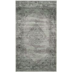 Safavieh Vintage Light Blue Viscose Rug (2'7 x 4') | Overstock.com Shopping - Great Deals on Safavieh Accent Rugs