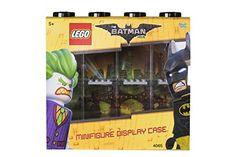 Vitrine de présentation des mini-personnages LEGO Batman pour 8 mini-personnages conteneur empilable contre un mur ou sur un bureau noir Lego Batman, Vitrine Lego, Lego Minifigure Display, Presentation, Display Case, Baseball Cards, Black Desk, Minis, Wall