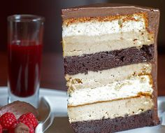 Heaven and Hell Cake Recipe