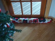 Draft excluder - handmade by Rebekah Draft Excluder, Handmade Gifts, Craft Ideas, Cream, Christmas, Crafts, Kid Craft Gifts, Creme Caramel, Xmas