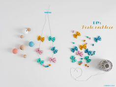 Mother's day DIY pasta necklace by La maison de Loulou
