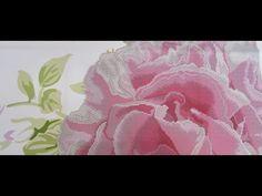 Вышивка бисером Барвыста вышиванка триптих «Пионы» - YouTube