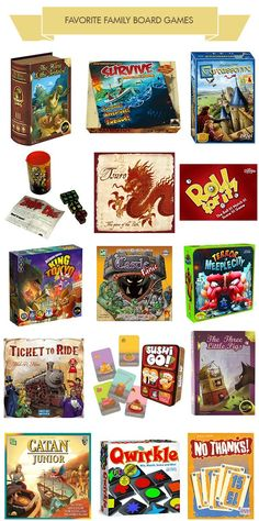 15 favorite family board games for kids 6 and up