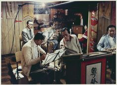 Yuet Sing Cantonese Music Club (粤声音乐社), Chinatown, Montreal, Quebec in 1981. Photographer: Marik Boudreau. It is still in operation at 1096 Clark Street, 4F.