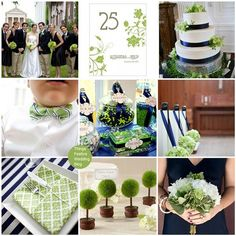 """If you're doing placecards, I""""ve seen these little topiary holders on various sites.  I never recommend seating charts because you never know who is actually going to show.  Also, notice the way they hung flowers on the chairs.  This is one way I was thinking you could line your aisle."""