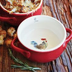 ***At least 4 bowls - Stacey - Jacques Pépin Collection Double-Handle Rooster Bowl | Sur La Table