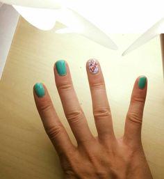 New self nails ♡ I love to design mine by myself ♡♡♡