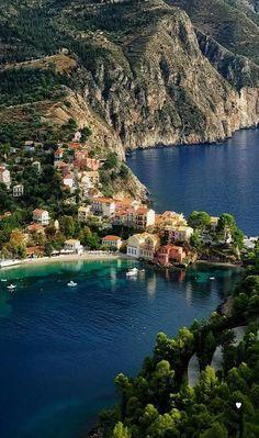 Assos, Kefalonia Island - Greece.