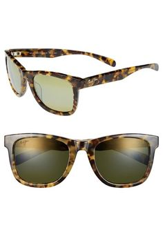 a8bef1a1d84 Women s Maui Jim  Legends  54mm Polarized Retro Sunglasses Tokyo Tortoise  One Size Maui Jim