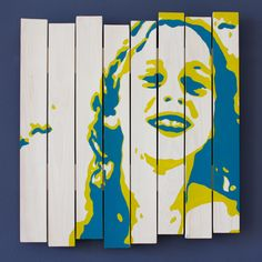 """""""Siblings series"""" - acrylic paint on white washed wooden panels, 50x50cm, € 300,-"""
