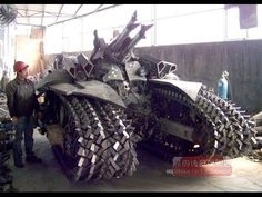 Chinese Designers Build Transformers Megatron Tank from Scrap Metal Chinese Designers Create Transformers Megatron Tank – Inhabitat - Green Design, Innovation, Architecture, Green Building Transformers Megatron, Zombie Apocalypse Survival, Pt Cruiser, Tank I, Cool Tanks, Discovery Channel, Military Equipment, Panzer, Armored Vehicles