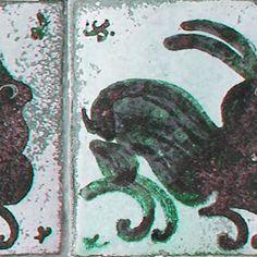 Ceramic tile . Bernard Leach