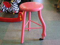 flamingo stool, This is one of my most prized possessions!