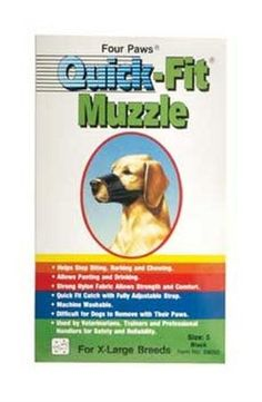 Dog Supplies Quick Fit Muzzle - Size 5 -- Trust me, this is great! Click the image. (This is an amazon affiliate link. I may earn commission from it)