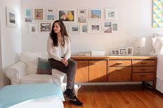 Work-From-Home Haberdasher Enlivens A 400-Sq-Ft Studio - Curbed NY