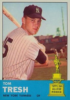 Up next in the Great Heritage Comparison – All-Star Rookies. Keep in mind – these cards feature players from the ASR team the year before. So we're comparing the 1962 ASR team t… Baseball Card Boxes, Baseball Card Values, Baseball Cards For Sale, Football Cards, Basketball Cards, Damn Yankees, New York Yankees, Baseball Players, Giants Baseball