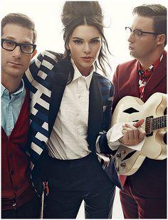 Kendall Jenner – Photoshoot for Vogue Magazine November 2015