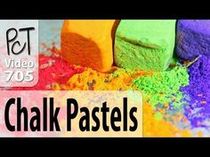 Chalk Pastels on Polymer Clay (Solid and Liquid Clay) - https://www.youtube.com/watch?v=RFj0p6F4SOU