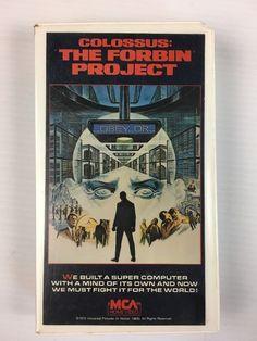 Colossus - The Forbin Project (VHS, 1994) Rare - MCA Home Video 1988