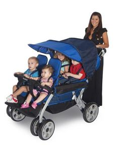 The LX4™ 4-Passenger Stroller | Honor Roll Childcare Supply - Early Education Furniture, Equipment and School Supplies.