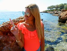 - This is Sivylla Voss Water, Swimsuits, Bikinis, Swimwear, Beach Tops, Beach Ready, Sandy Beaches, Asos, Sunglasses