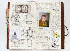 A Look In Anna Rusakova's Sketchbook image2
