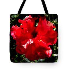 Gema Roja Tote Bag by Russell Latino